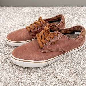 Vans Pro Brown Sneakers Size 10 Mens